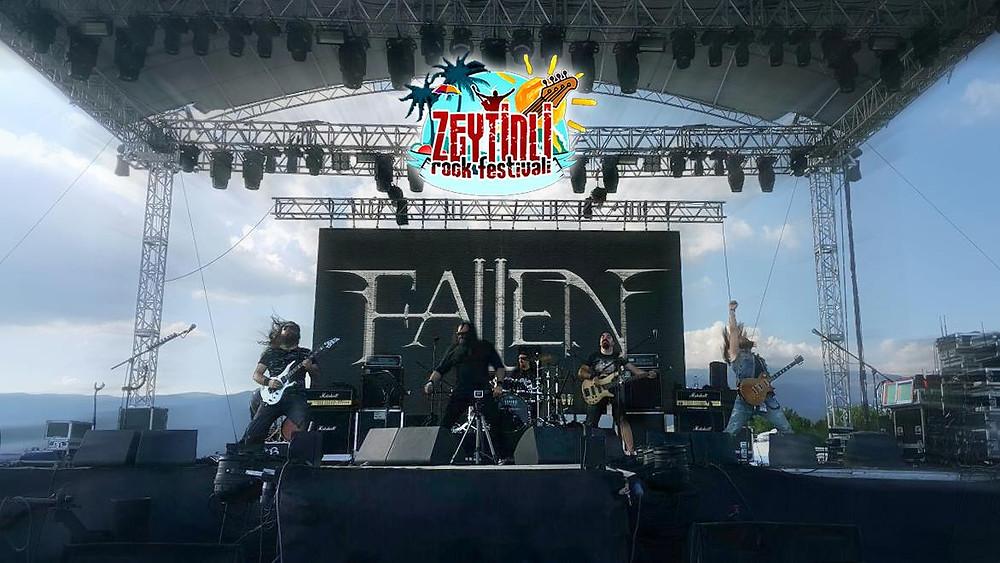 FALLEN @ Zeytinli Rock Festivali - 23.08.2015