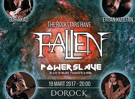FALLEN 19 Mart'ta Dorock XL'da çok özel konuklar ile sahne alıyor!