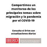 Desde el PRAMI compartimos un monitoreo de los principales temas y noticias sobre migración y la pandemia por el COVID-19.  Los tomas generales son detención, deportación, tránsito, asilo, xenofobia, albergues, fronteras y atención médica y acceso a la salud en México, Estados Unidos y Triángulo Norte de Centroamérica.