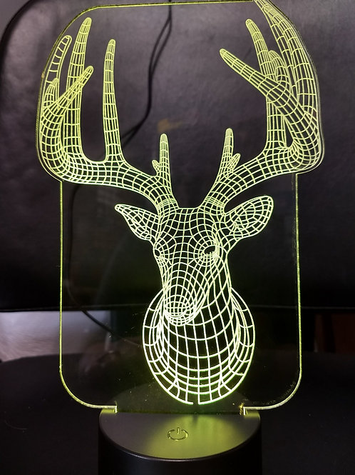 3D buck nightlight