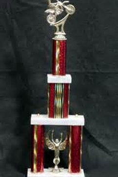 Tiered trophy