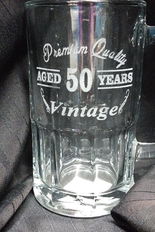 Beer mug 50 years
