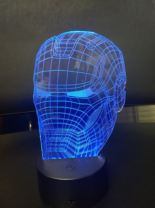 3D Acrylic  Iron man nightlight