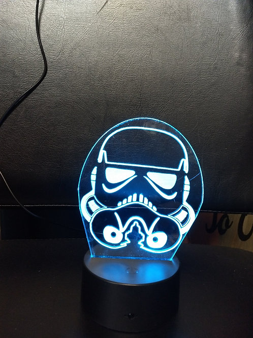 Storm trooper 3D night light