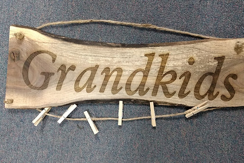 Wood Sign Family