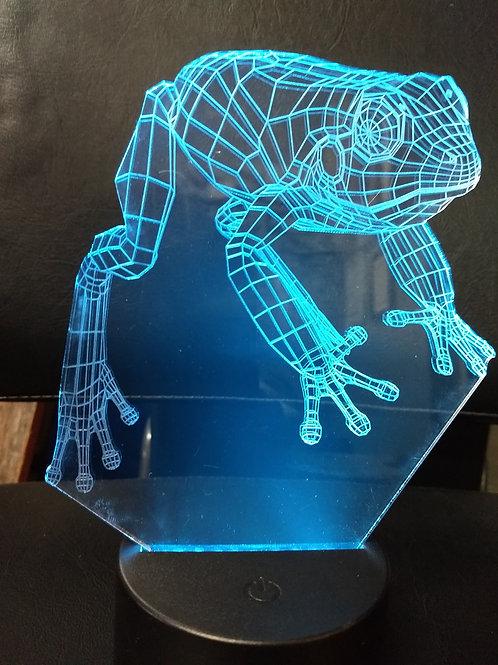 3D Frog nightlight