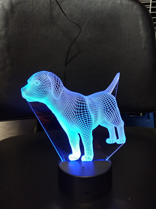 3D Lab night light