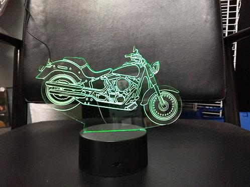3D Harley night light