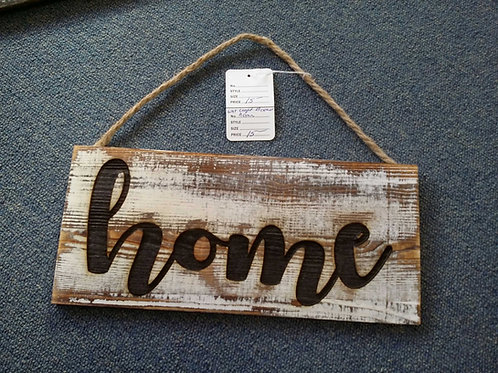 Craft wood sign home engraving