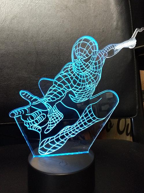 3D Spider man nightlight