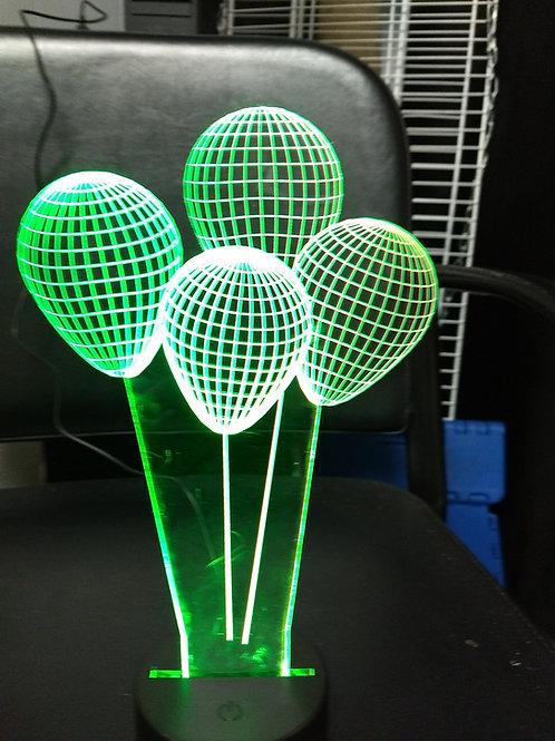 3D Acrylic balloons
