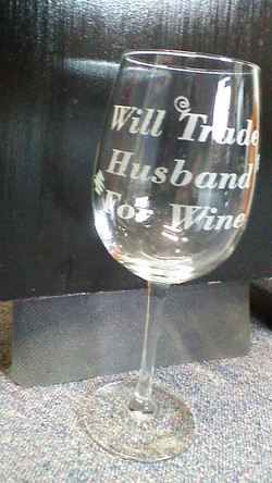 wil trade wine for husband glass