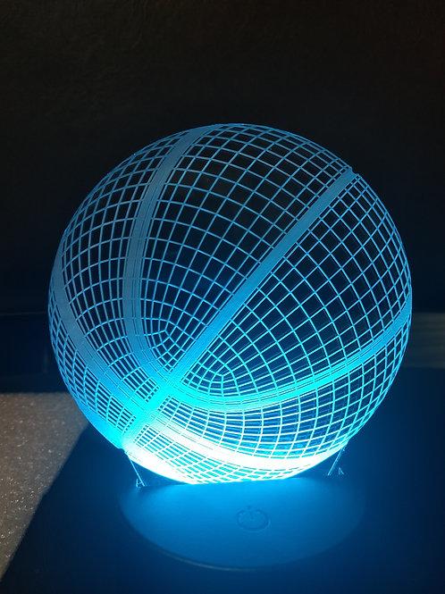 3D Basketball night light