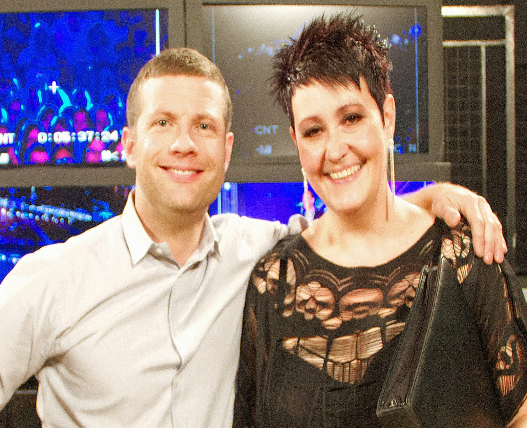 Sian Pearce Gordon meets Dermott O' Leary