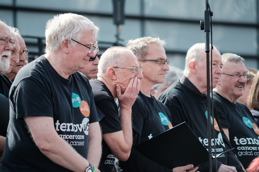 Tenovus Choir in Swansea