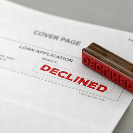 Top 5 Reasons Mortgage Applications are Declined