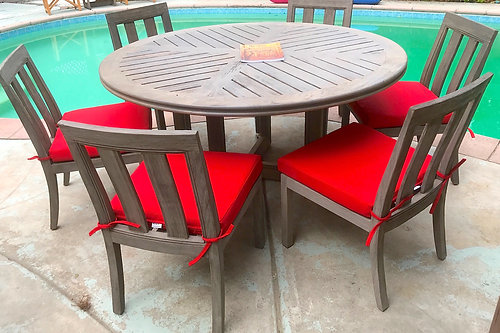 Teak Patio Furniture | Woodland Hills | IKsun Teak Patio Furniture ...