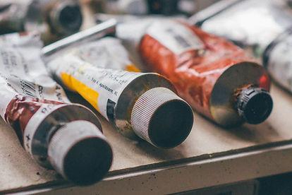 Tubes de peinture