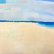 Monterey Beach, 24 x 24, oil on canvas