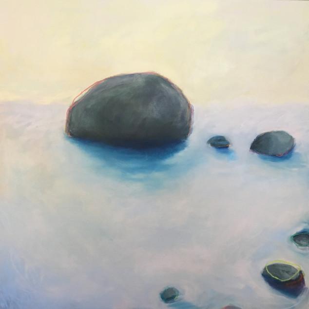 Icelandic Dreams, 36x36, oil on canvas