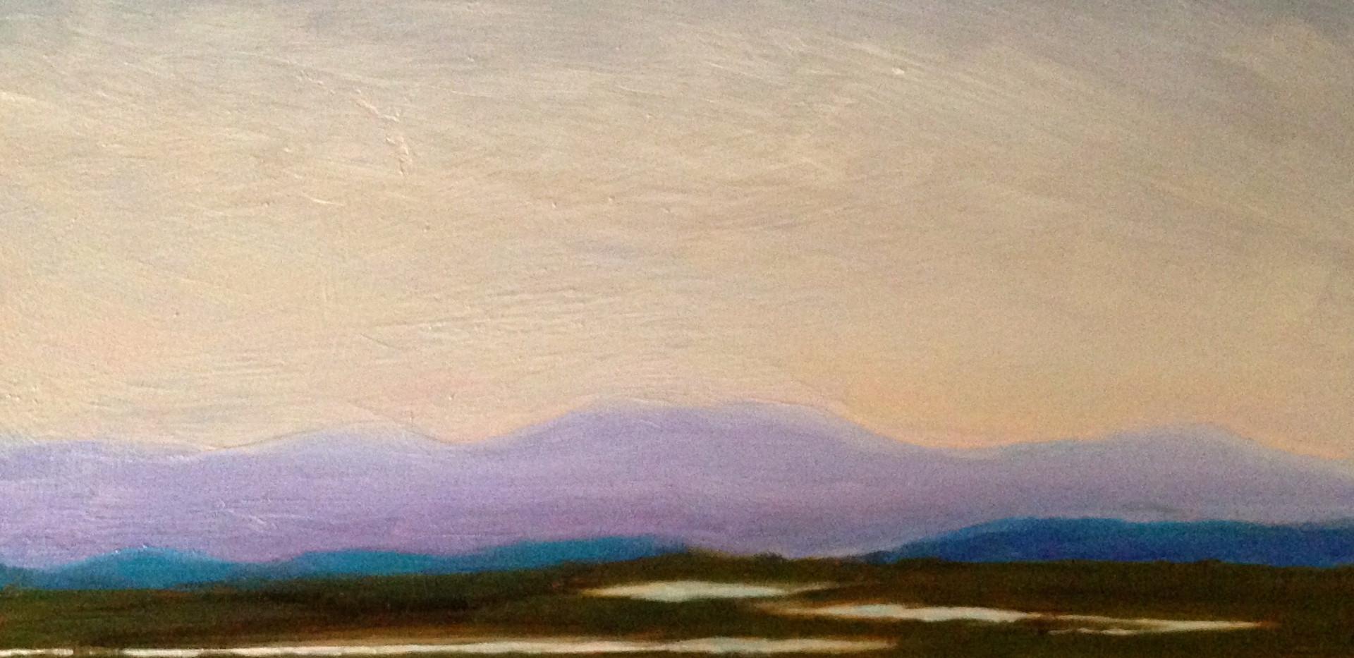 Las Gallinas Marsh, 12x12, oil on wood, $350