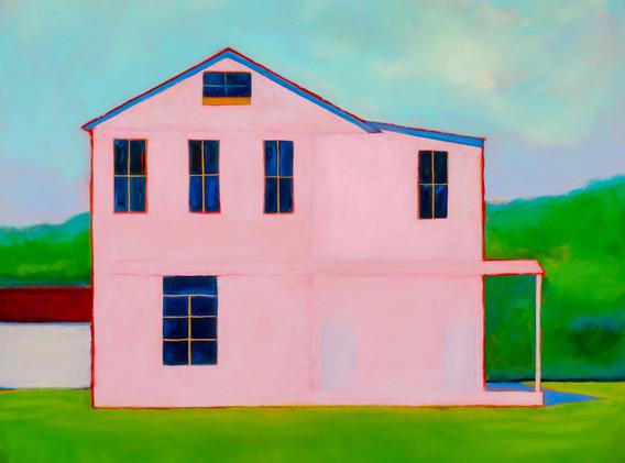 Summer House, 36x36, oil on canvas, $1500