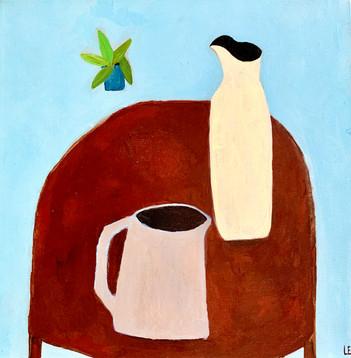 Still Life 2,12x12, acrylic on canvas, $400