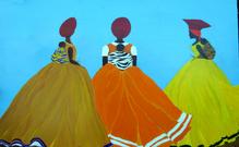 Regal Herero African Women
