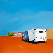 Road to San Antonio, 36x36, oil on canvas