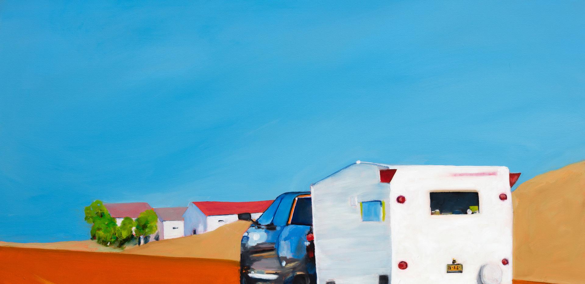 Road to San Antonio, 36x36, oil on canvas, $1500 (SOLD)