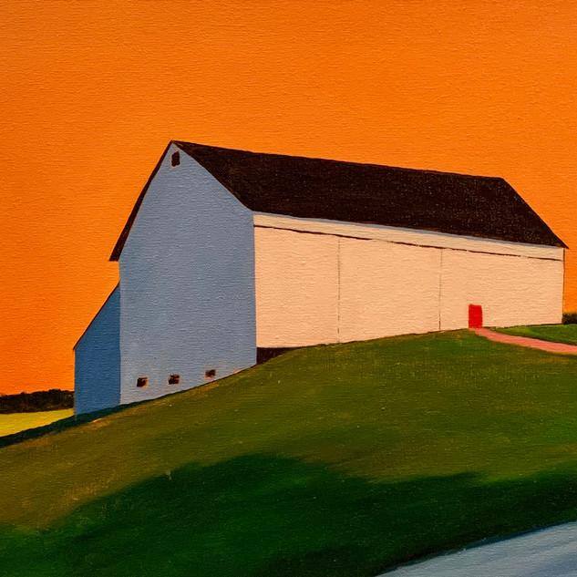 Tangerine Sky, 16x20, oil on canvas