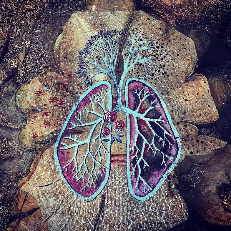 Azul Thome Artist of Earth Gaia Deep Lun