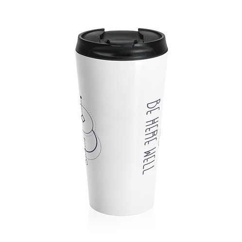 Eco-Friendly Keep Cup, Ltd Ed Indigo Blue Logo