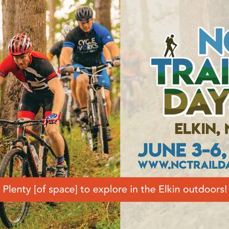 Come Hike, Bike, Paddle, and Explore ELKIN!