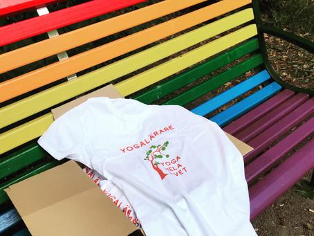Nu har våra T-shirts anlänt!