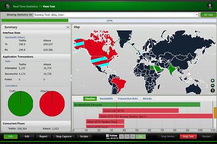 เครื่องมือ Test Network และ Security tools โดยสามารถ Generate Traffics ได้ตั้งแต่ 1 Gbps ถึง 10 Gbps , 300 Application Protocol เช่น Gmail, Skype, HTTP, SSL และ Game เป็นต้น  และ หากต้องการ Test Security ก็สามารถจำลองการโจมตีได้มากกว่า 36,000 รูปแบบ มีทั้งแบบ Appliance และ VM โดยอุปกรณ์ของ Keysight นั้น Vendor ทางแบรนด์ดังๆก็นำไปใช้ในการทดสอบอุปกรณ์ของตัวเองเพื่อออก Datasheet เนื่องจากเป็นที่ยอมรับในความแม่นยำ และ ความสามารถของอุปกรณ์ของ Keysight