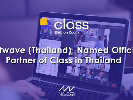 Nextwave (Thailand)  Named Official Partner of Class in Thailand