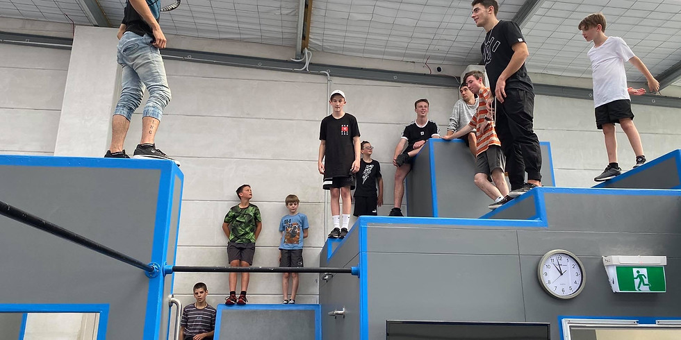 FREE Parkour Clinic | 9-16yrs | 12PM - 1PM