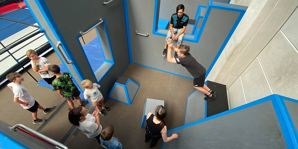 FREE Parkour Clinic | 9-16yrs 2PM - 3:30PM