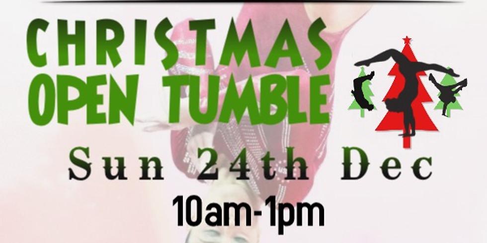 Christmas Open Tumble Session - Sunday
