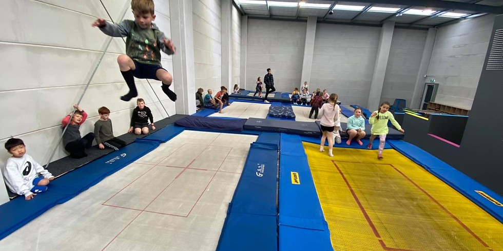 FREE Trampoline 'Have-A-Go' | 9-16 yrs