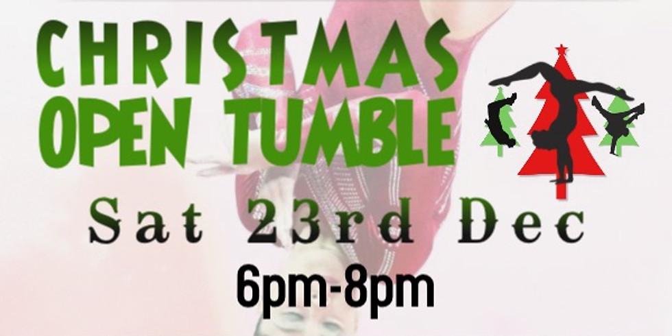 Christmas Open Tumble Session - Saturday