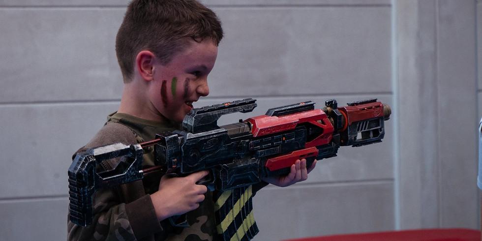 Nerf Gun War! - WIGRAM - 20th July