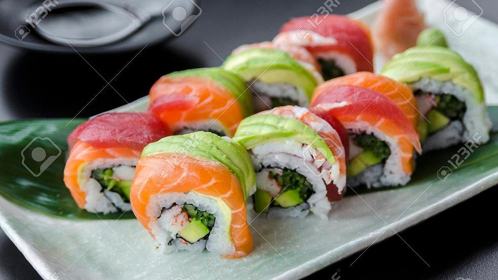Raimbow roll