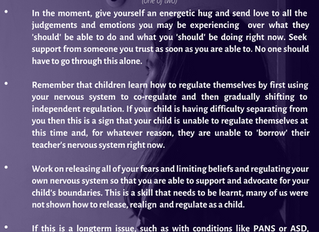 Are you needing clarity on managing school refusal and separation anxiety?