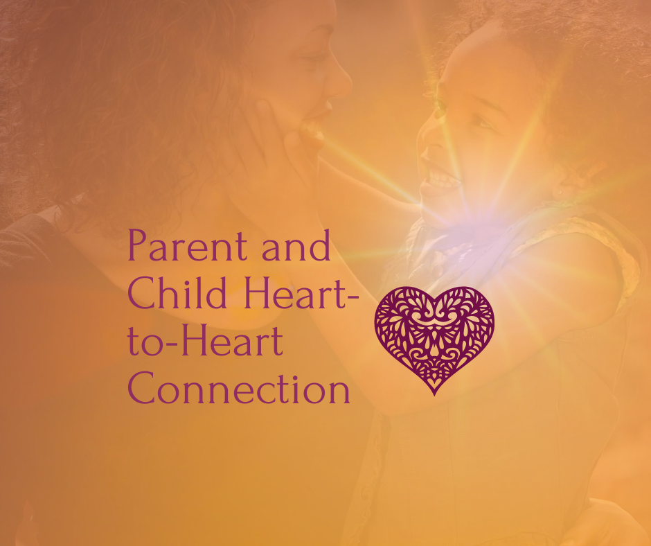 Parent and Child Heart-To-Heart $175AUD