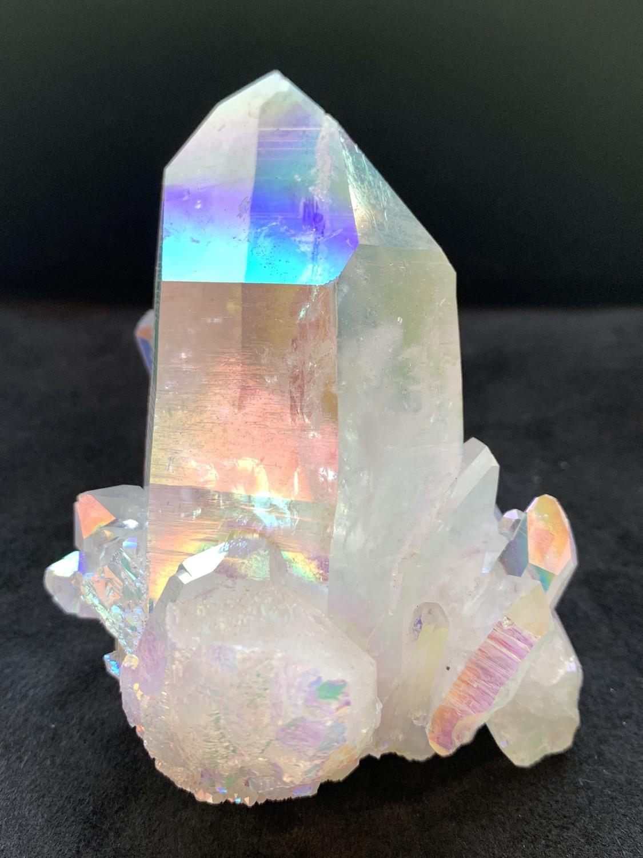 Thumbnail: Opal Aura Quartz Cluster