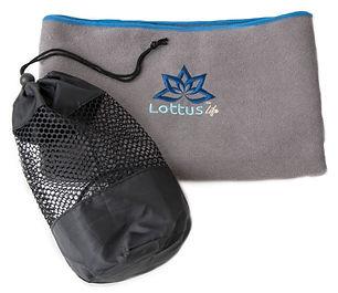Microfiber super absorbent yoga mat towel