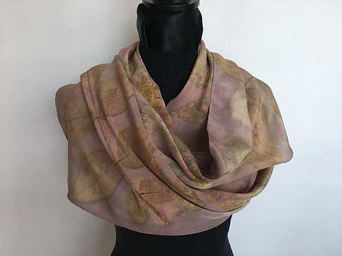 Crepe Silk Scarf CDC14-83 Pink Lac
