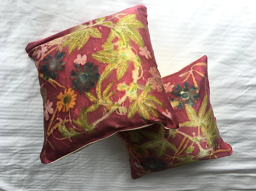 Red Cushion Cover, pillow case, 14 x 14 inch